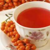 Homoktövis tea