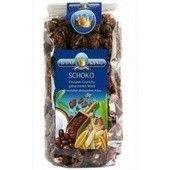 Bioking bio csokoládés-Mogyorós müzli 375g
