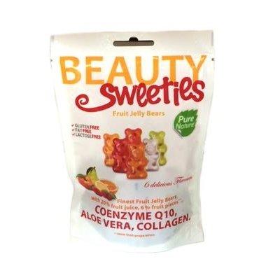 Beauty sweeties gluténmentes vegán gumicukor jelly bears 125g