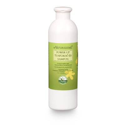 Naturissimo Power Up tusfürdő és sampon 500ml