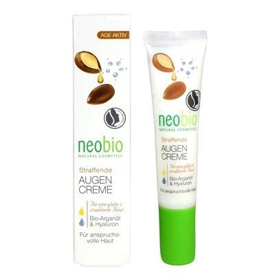 Neobio szemránckrém argán+hialuronsavval 15ml