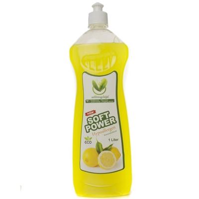 Soft power mosogatószer citrom 1000ml