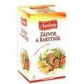 Apotheke gyömbér és homoktövis tea 20 filter