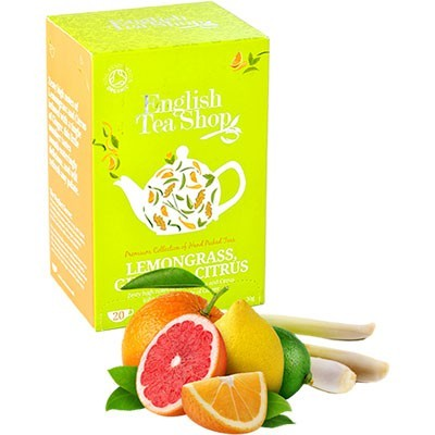 Ets bio citromfű tea gyömbér-Citrus 20 filter